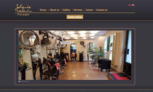Saloon Booking Website