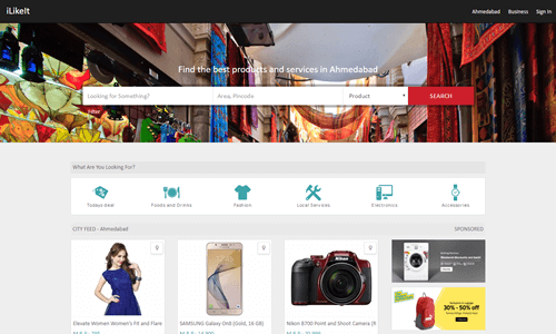 Finds best shopping deal nearby you